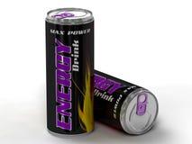 Energetyczny napój może Fotografia Stock