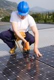 energetyczny słońce Zdjęcia Royalty Free
