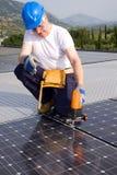 energetyczny słońce Obraz Royalty Free
