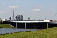 energetyczny transport Zdjęcie Royalty Free