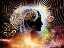 Energi av den mänskliga meningen Arkivfoton