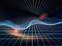 Energi av geometri arkivbild