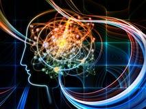 Energi av intelligens Royaltyfri Fotografi