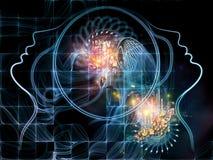 Energi av matematik Royaltyfri Fotografi