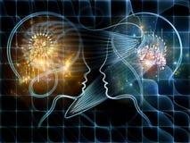 Energi av matematik Royaltyfria Bilder