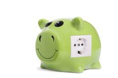 Energi - besparingar Arkivbilder
