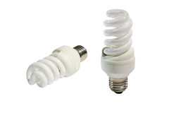 Energi - besparinglampa Arkivbild
