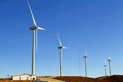 energi eolian I Royaltyfri Fotografi