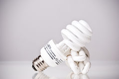 Energi - ljusa kulor för sparande Royaltyfri Bild