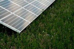 energi panels förnybart sol- royaltyfri bild