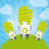 energi - sparande Royaltyfri Fotografi