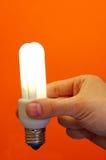 energi - sparande Arkivbild