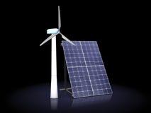 Energia alterna Immagini Stock Libere da Diritti