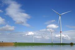 Energia alternativa Fotografie Stock Libere da Diritti