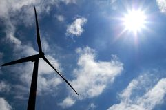 Energia alternativa immagine stock libera da diritti