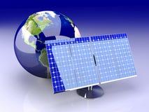 Energia alternativa - America Immagini Stock Libere da Diritti