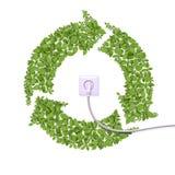 Energia alternativa, concetto Immagine Stock Libera da Diritti