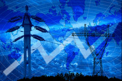 Energia & potência Foto de Stock