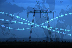 Energia & potência imagem de stock royalty free