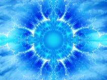 Energia astrale illustrazione vettoriale