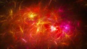 Energia astratta brillante calda Immagine Stock