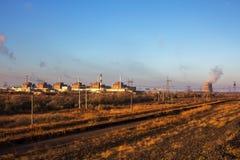 Energia atomowa i zanieczyszczenie Obraz Royalty Free