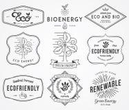 Energia 2 bio e de Eco Imagem de Stock