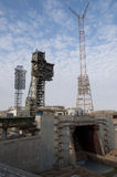 Energia-Buran space system launch pad. Baikonur Cosmodrome Stock Photography