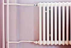 Energia calorífica central do radiador Fotografia de Stock Royalty Free