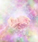 Energia cura e sparkles Fotografia de Stock