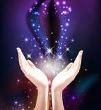 Energia cura mágica ilustração stock