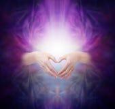 Energia curativa sacra Immagine Stock Libera da Diritti