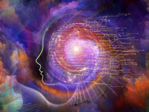 Energia da alma Foto de Stock
