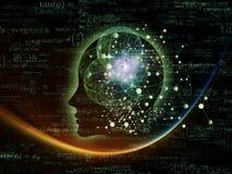 Energia da mente Imagem de Stock