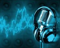 Energia da música (trajeto de +clipping, XXL) Imagem de Stock