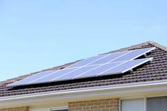 Energia das energias solares Foto de Stock Royalty Free