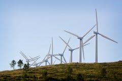 Energia de Aeolican Fotografia de Stock