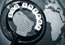 Energia de Eco Foto de Stock