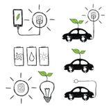 Energia de Eco Mão original de alta qualidade tirado Fotos de Stock