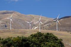 Energia de Eolic Fotografia de Stock Royalty Free