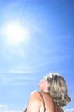 Energia de Sun Foto de Stock Royalty Free