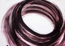 A energia de um movimento circular, a turbul?ncia da cria??o fotografia de stock royalty free