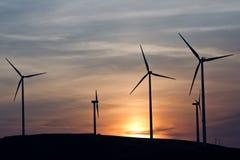 Energia de vento Imagem de Stock Royalty Free