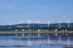 Energia de vento. Fotos de Stock