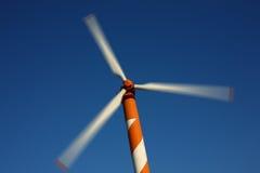 Energia de vento Imagens de Stock Royalty Free