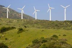 Energia de vento fotografia de stock royalty free