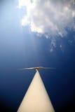 Energia de vento foto de stock
