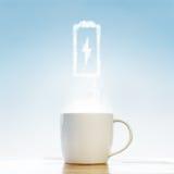 Energia del caffè fotografia stock