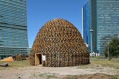 Energia 2017 del nomade di Astana Art Fest a Astana Fotografia Stock Libera da Diritti