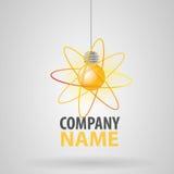 Energia della lampadina Fotografia Stock Libera da Diritti